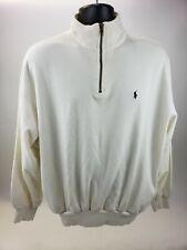 Polo Ralph Lauren Mens M Half Zip Sweater