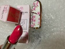 GUERLAIN CHERRY BLOSSOM ROUGE G LIPSTICK SPRING 2020  CASE + COLOR 2 pc set