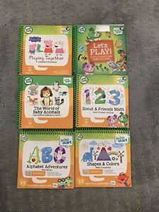 Leapfrog Leapstart 3d Learning System Books Lot Of 6 Level 1 Preschool