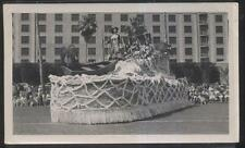 1940s POSTCARD SIZE PHOTO ST PETERSBURG FL/FLORIDA PARADE FLOAT HILLSBOROUGH