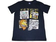 NEU Dopodopo tolles T-Shirt Gr. 122 mit witzigen Tier Motiven !!