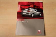 68786) Seat Leon torrid Prospekt 03/2002