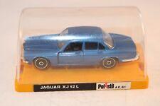 Polistil Jaguar XJ 12 L Blue perfect mint in box OVP Scarce