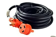 25 foot 30 amp RV Extension Cord Power Supply Cable for Trailer Motorhome Camper