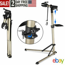 Steel Bike Bicycle Maintenance Mechanic Repair Tool Rack Work Park Stand Holder