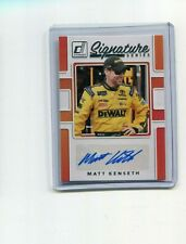 2018 Donruss Racing Signature Series Matt Kenseth Auto   SS-MK