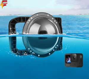 Dome Port for GoPro Hero 9 Black Dome Port Waterproof Housing Case Lens Cover
