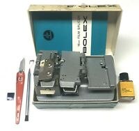 Bolex 16mm cement splicer, boxed with instructions