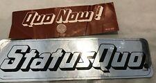 Status Quo Vertigo & Capitol UK & US Promo Stickers