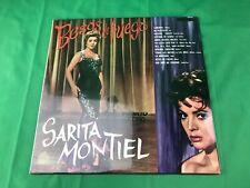 SARITA MONTIEL - BESOS DE FUEGO LP (BRAND NEW) (PUNCH HOLE)