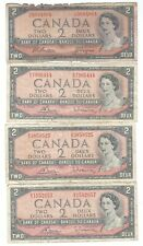 New listing Canada - 1954-2001, Lot of 10 banknotes: 1, 2 & 10 Dollars