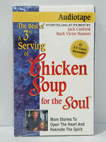 Best of 3rd Serving of Chicken Soup for the Soul by Jack Canfield 1996 Audiotape