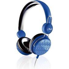 Biostar - iDEQ N20 - Supraural 3.5mm Stereo Headset with Mic - Blue