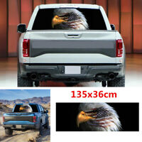 Waterproof Car Truck Rear Window American Flag Bald Eagle Graphic Decal Sticker
