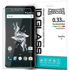For OnePlus X Screen Protector Premium Tempered Glass, Ringke Invisible Defender