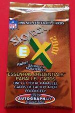 1998 Fleer Skybox E-X 2001 Football HOBBY Pack Peyton Manning RC? Dan Marino AU?