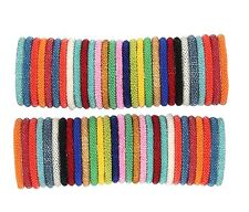 Random Sets Of 12 Solid Color Bracelets Nepal bracelet Roll On Bracelet