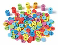 Place Value Disks - Maths Counters Subtraction Addition Numeracy