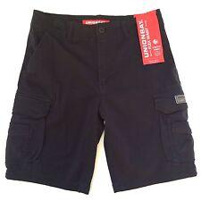 Unionbay Men's Cargo Bermuda Shorts 32 Twilight Gray NEW