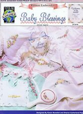 Baby Blessings Ribbon Embroidery Pattern Book Beginner