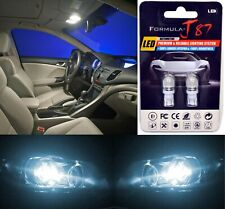LED 5050 Light White 6000K 168 Two Bulbs License Plate Replace Upgrade SMD JDM