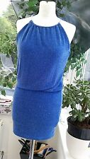 LIPSY SPARKLY BLUE DRESS SIZE 6/8 VERY GOOD CONDITION, PARTY, WIGGLE DRESS