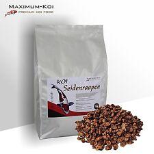 KOIFUTTER Premium * Seidenraupen * 1 KG /  Koi Snack / Fischfutter