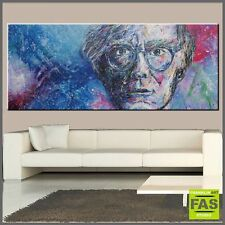 URBAN POP ART ABSTRACT PAINTING HVY TEXTURE andy warhol 240x100 Paul Franklin