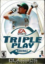 EA Sports Triple Play Baseball Pc New Boxed Classic Gaming 2001 Season MLB Fun