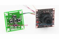 "FPV 700TVL 1/3""Sony CCD Effio-E PCB Board Camera OSD Control Panel 3.6mm lens558"