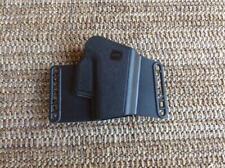 New listing Genuine Glock Factory Pistol Belt Holster Combat Sport Black Large Frame Police