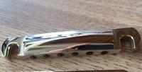 OEM Nickel Genuine Gibson Historic Lightweight Aluminum Tune-O-Matic Tailpiece