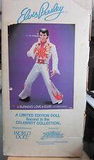 "Vintage 1984 Elvis Presley ""Burning Love"" 21"" Vinyl World Doll Collection RARE"