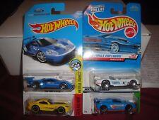 Hot Wheels High Performance lot 13 SRT Viper 16 Ford GT Renault RS & Panoz GTR-1