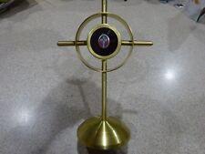 True Crucifix Reliquary + relic  CROSS JESUS CHRIST D.N.J.C.