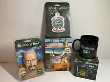 Breaking Bad TV Bundle Season 1-4 DVD Heisenberg Stress Ball Mug & Air Freshener