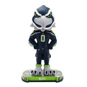 Seattle Seahawks Mascot Blitz Headline Special Edition Bobblehead NFL