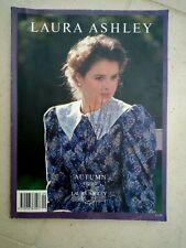 Vintage Laura Ashley By Post Clothes Catalogue Autumn 1990