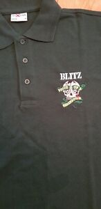Blitz -  Bottle Green - Embroidered Polo