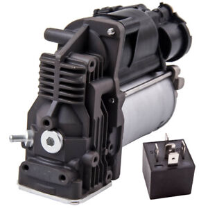 Air Compressor Pump With Relay Kit For BMW X5 E70 X6 E71 All Models 37206799419
