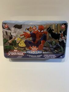 Marvel Ultimate Spider Man 3 Puzzle Panorama Sealed 3 Yrs And Up