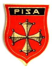 Ricamate Toscana bandiera bandiera aufbügler Patch 8 x 5 cm