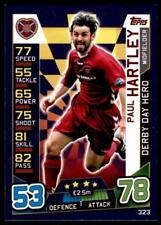 Match Attax 2016-2017 SCOTTISH Paul Hartley Hearts Derby Day Hero No. 323