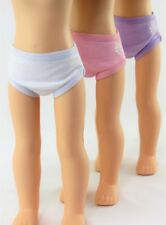 3 Pack Panties, , Pink, White Lavender for 14'' dolls by American Fashion World