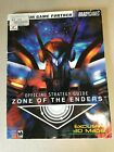 Zone of the Enders Official Strategy Guide Brady 2001
