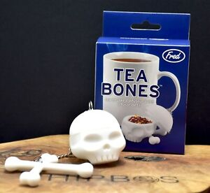 Skull Tea Infuser TEA BONES by Fred White