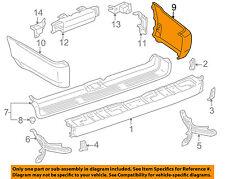 TOYOTA OEM 99-02 4Runner Rear Bumper-Extension Right 5210635900
