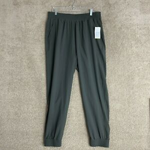 Old Navy Active Jogger Womens Size Large Tall Green Stretch Tech Pants NEW