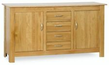Oak Sideboards with 4 Drawers