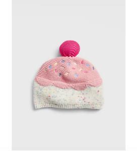NEW BABY GAP Baby Ice Cream Garter Beanie 18-24M 12-18M N5